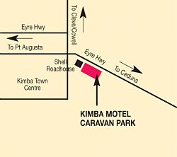 Kimba Motel Caravan Park - Accommodation Mount Tamborine