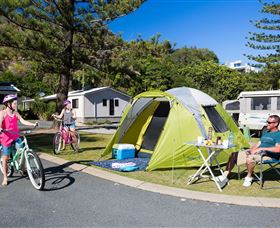 Ocean Beach Tourist Park - Accommodation Mount Tamborine