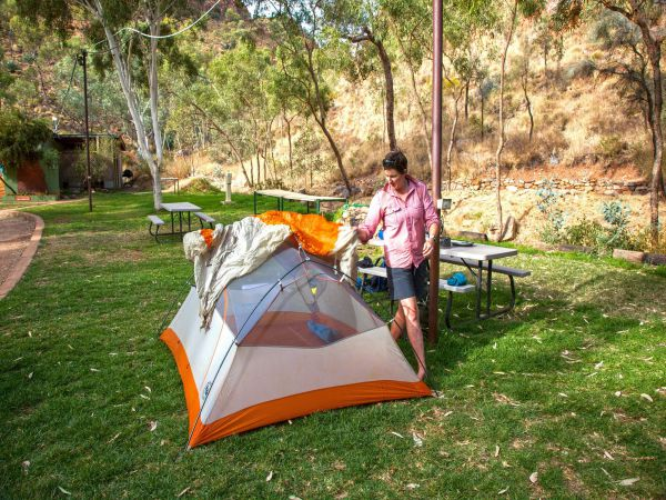 Standley Chasm Angkerle Camping - Accommodation Mount Tamborine