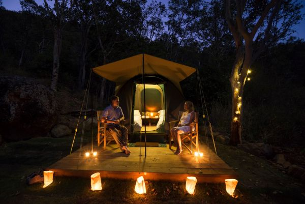 Keswick Island Camping and Glamping - Accommodation Mount Tamborine