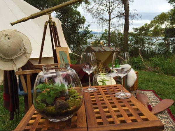 Wingtons Glamping Clarence Point - Accommodation Mount Tamborine