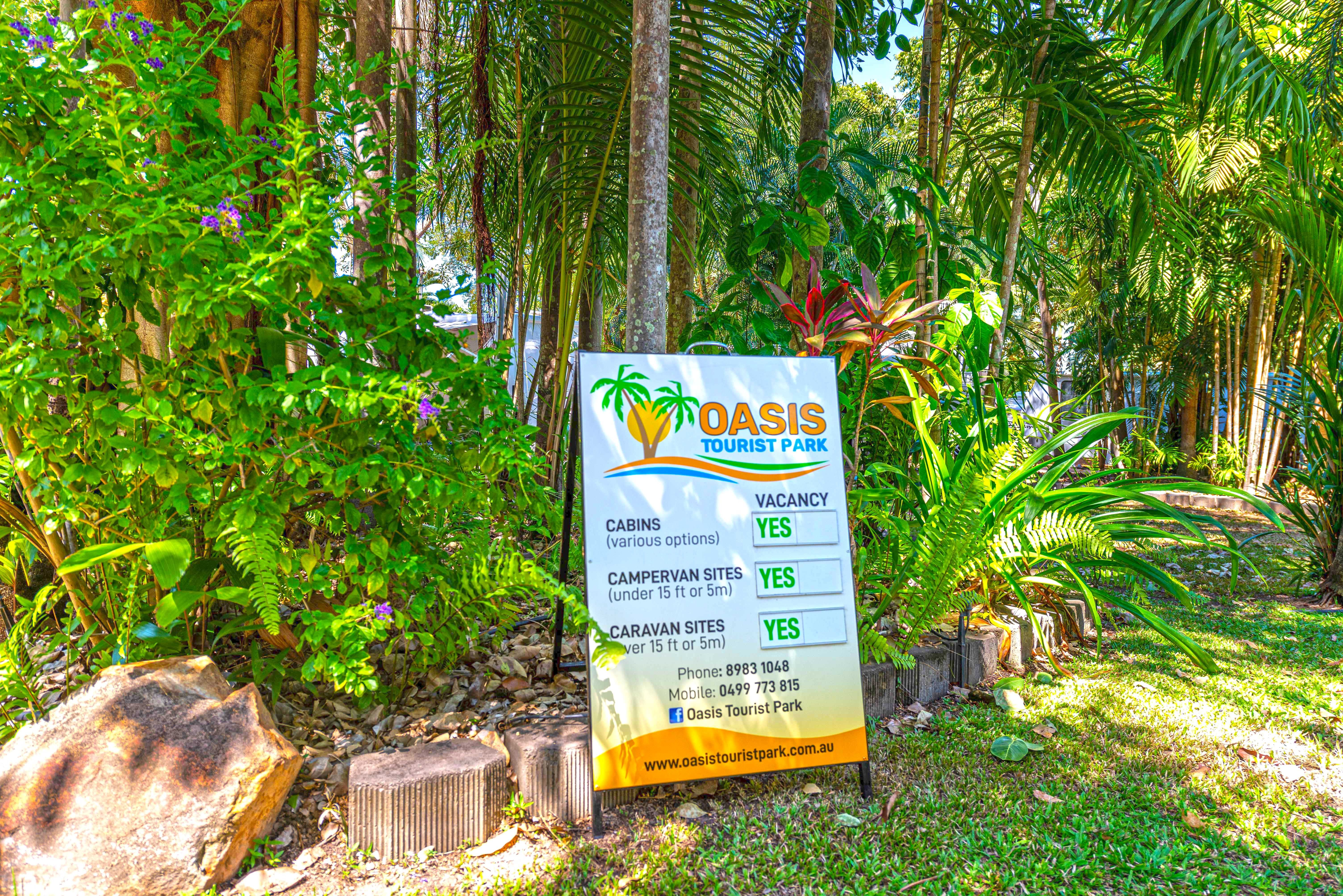 Oasis Tourist Park - Accommodation Mount Tamborine