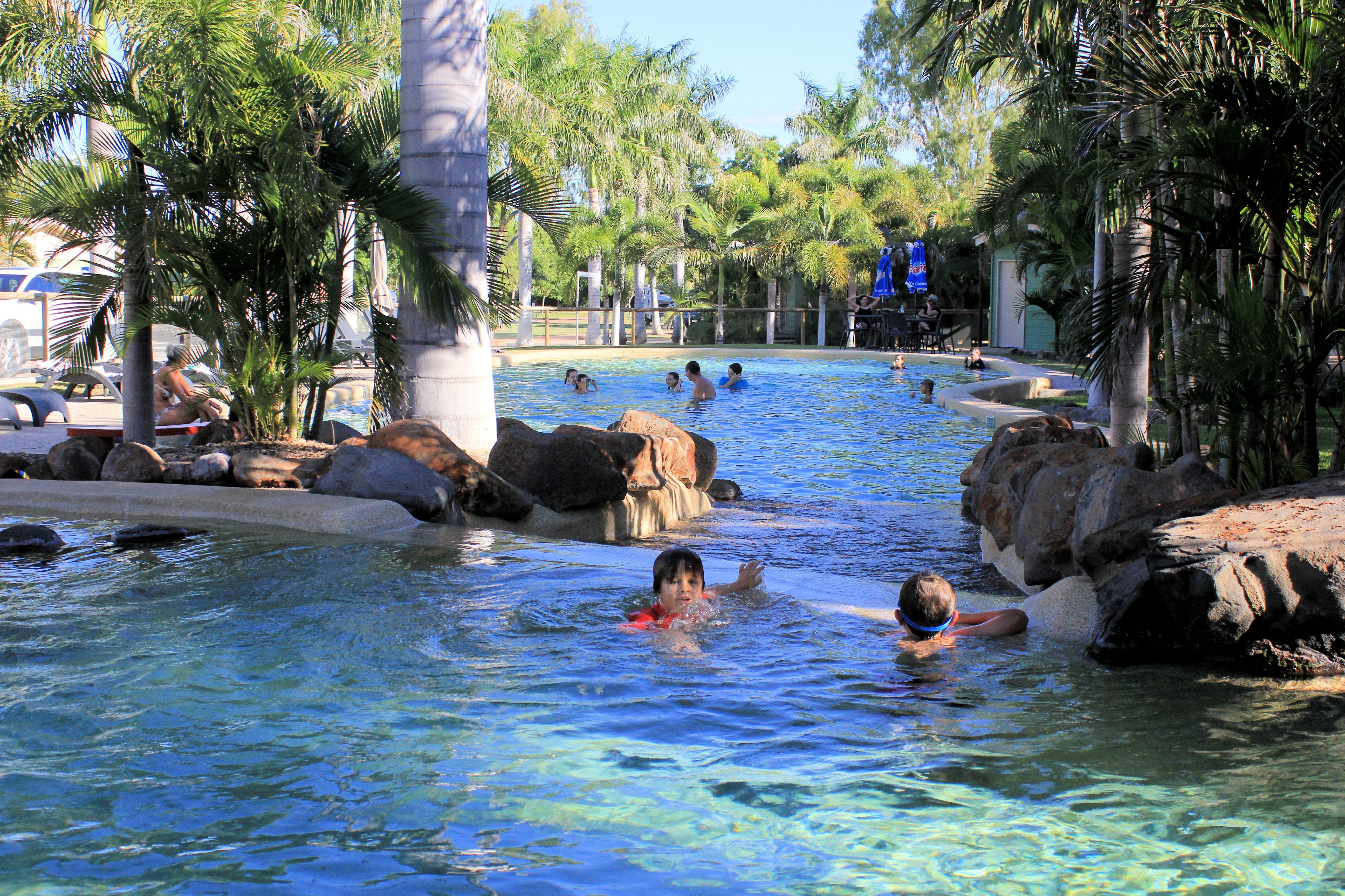 Big4 Aussie Outback Oasis Holiday Park - Accommodation Mount Tamborine