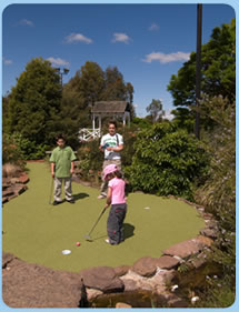 Wetlands Mini Golf - Accommodation Mount Tamborine