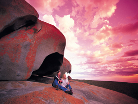 Remarkable Rocks Flinders Chase National Park - Accommodation Mount Tamborine