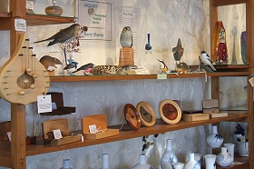 Touchwood Craft Gallery Gifts and Cafe - Accommodation Mount Tamborine
