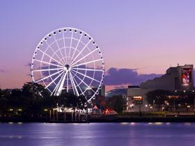 The Wheel of Brisbane - Accommodation Mount Tamborine