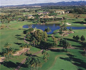 Palm Meadows Golf Course - Accommodation Mount Tamborine