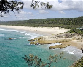 Main Beach North Stradbroke Island - Accommodation Mount Tamborine