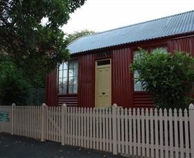 19th Century Portable Iron Houses - Accommodation Mount Tamborine