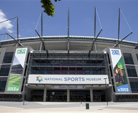 National Sports Museum at the MCG - Accommodation Mount Tamborine