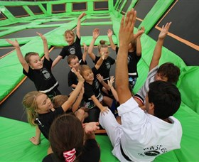 Flip Out Trampoline Arena - Accommodation Mount Tamborine