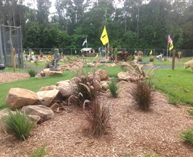 The Cove Miniature Golf Course - Accommodation Mount Tamborine