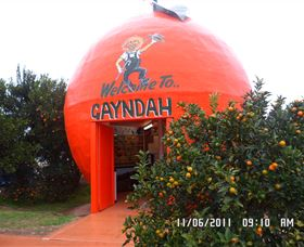 Gayndahs Big Orange - Accommodation Mount Tamborine