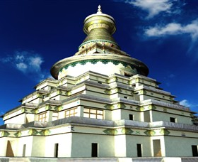 The Great Stupa of Universal Compassion - Accommodation Mount Tamborine