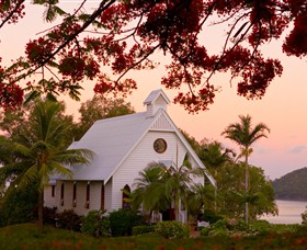 All Saints Chapel - Hamilton Island - Accommodation Mount Tamborine