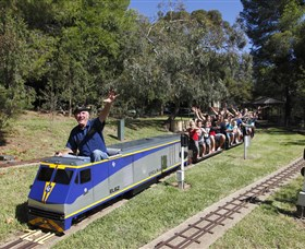 Willans Hill Miniature Railway - Accommodation Mount Tamborine