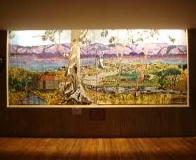 Adaminaby Memorial Hall Stage Curtain - Accommodation Mount Tamborine
