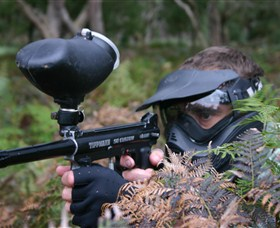 Tactical Paintball Games - Accommodation Mount Tamborine