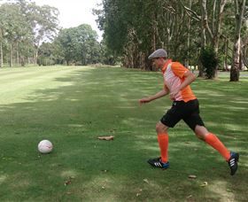 FootGolf at Teven Valley Golf Course - Accommodation Mount Tamborine