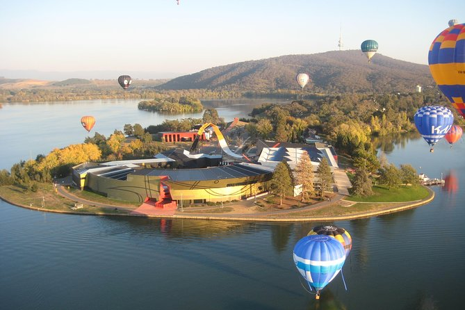 Canberra Hot Air Balloon Flight at Sunrise - Accommodation Mount Tamborine