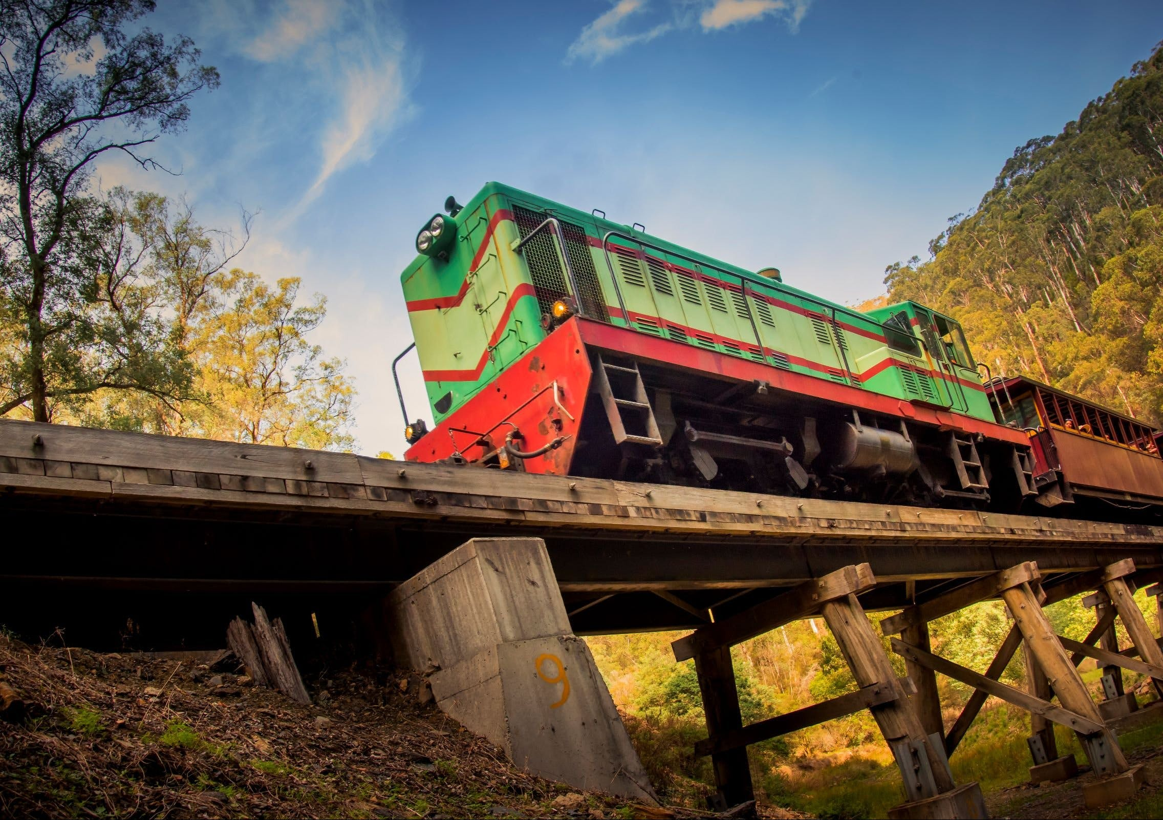 Walhalla Goldfields Railway - Accommodation Mount Tamborine