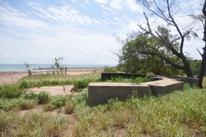 WWII Gun Emplacement Wagait Beach - Accommodation Mount Tamborine