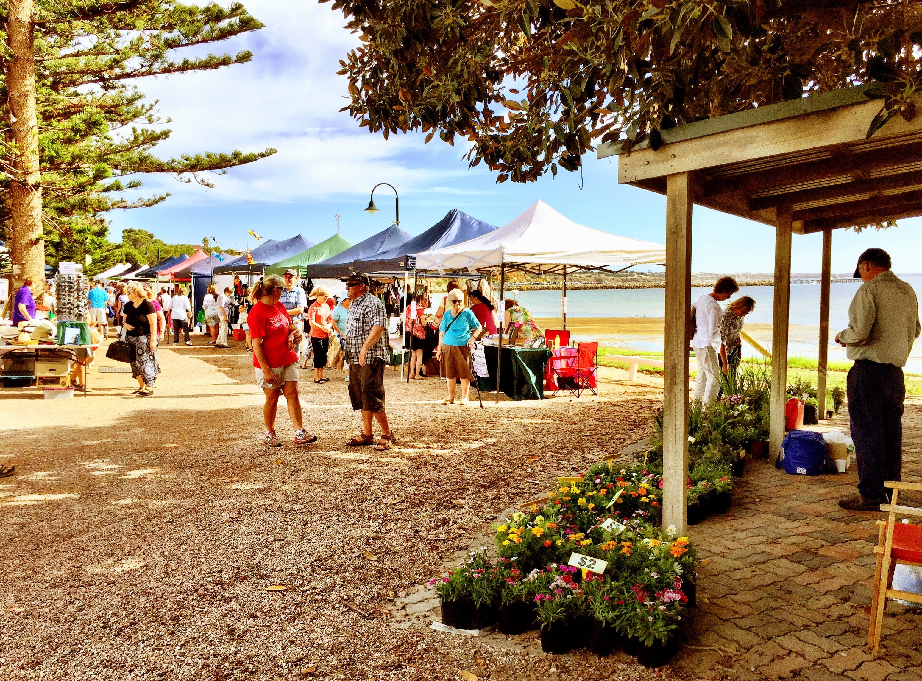 Stansbury Seaside Markets - Accommodation Mount Tamborine