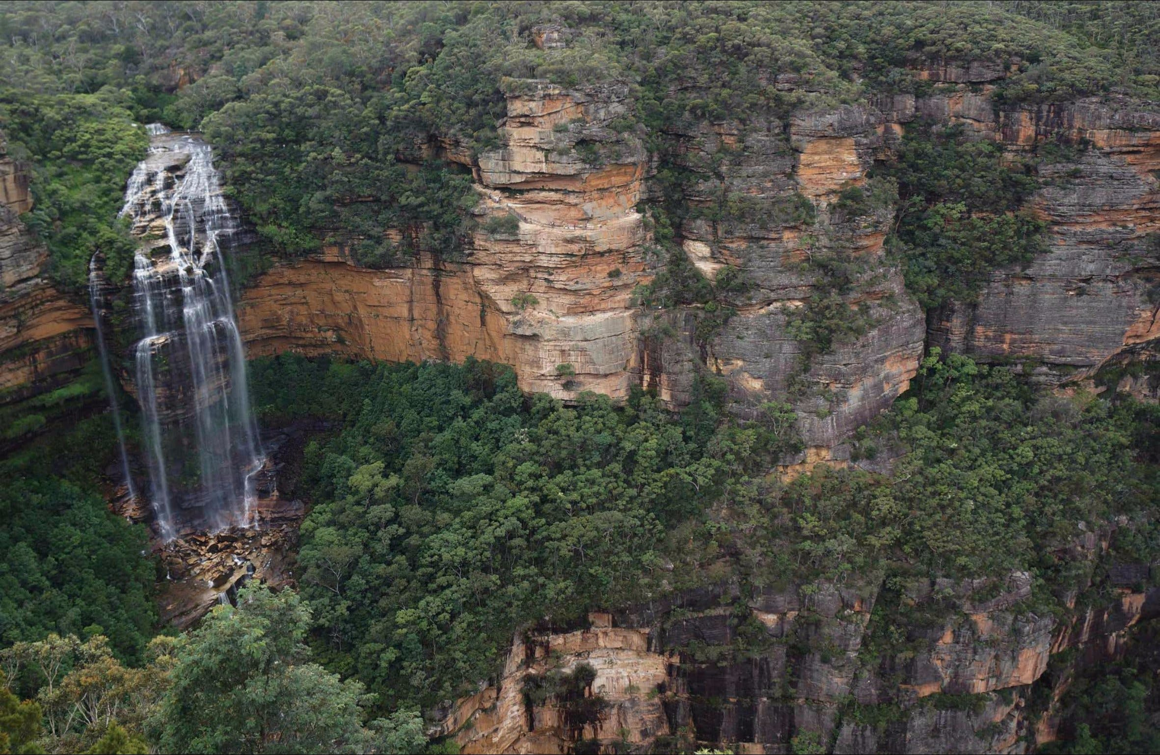 Wentworth Falls Lookout - Accommodation Mount Tamborine