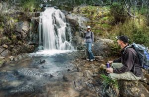 Waterfall Walking Track Kosciuszko National Park - Accommodation Mount Tamborine
