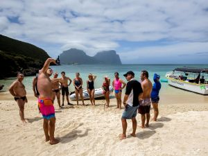 Ocean Swim Week with Trevor Hendy Pinetrees Lord Howe Island - Accommodation Mount Tamborine