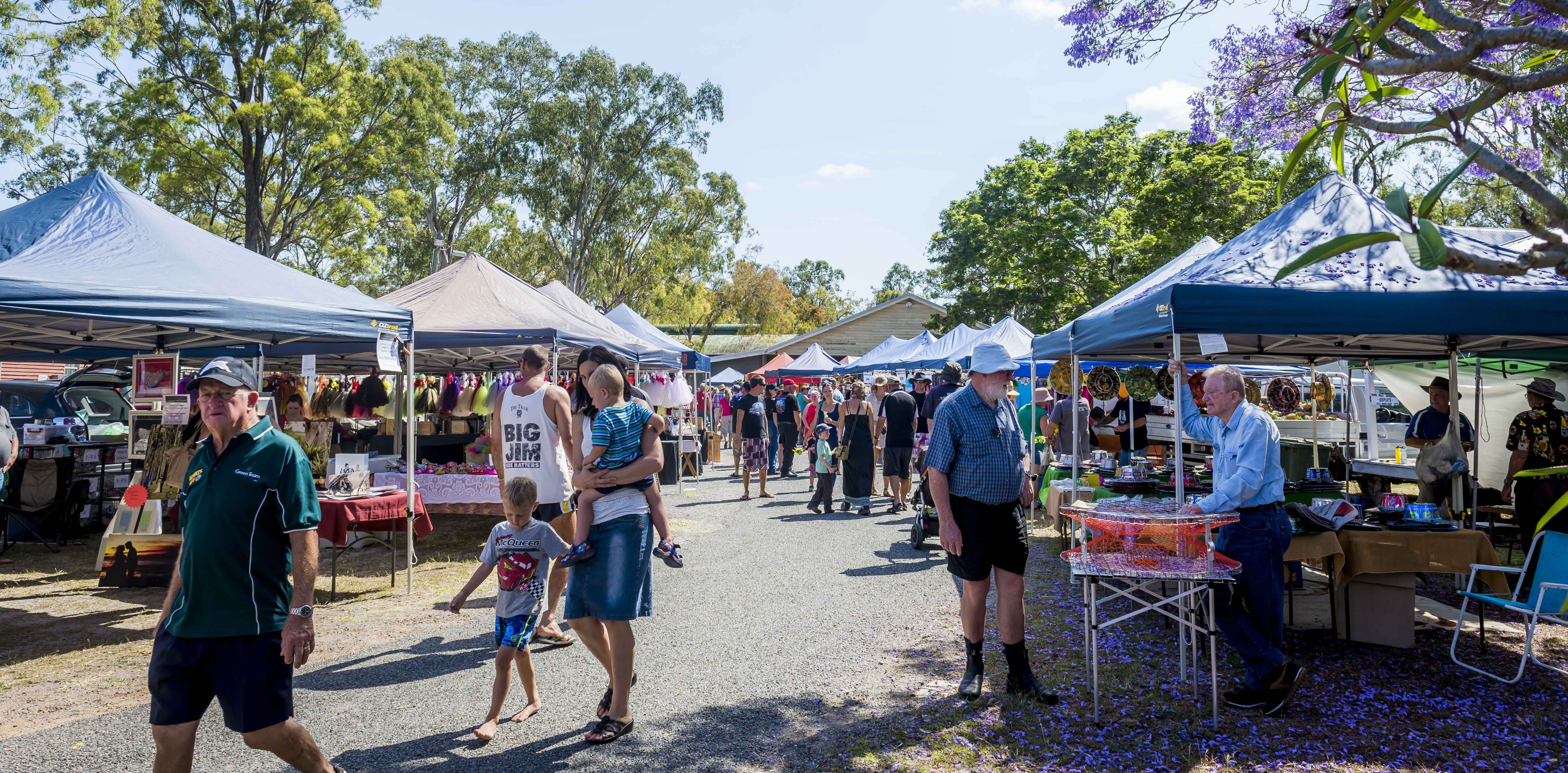Calliope Historical Village Markets - Accommodation Mount Tamborine