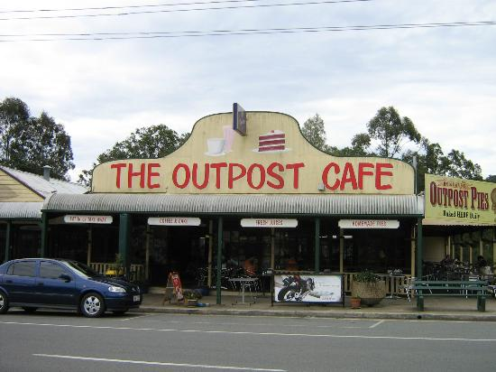 The Outpost Cafe - Accommodation Mount Tamborine