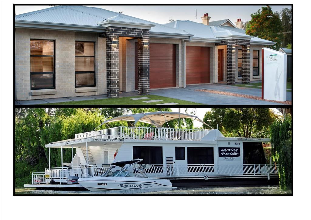 Renmark River Villas and Boats  Bedzzz - Accommodation Mount Tamborine
