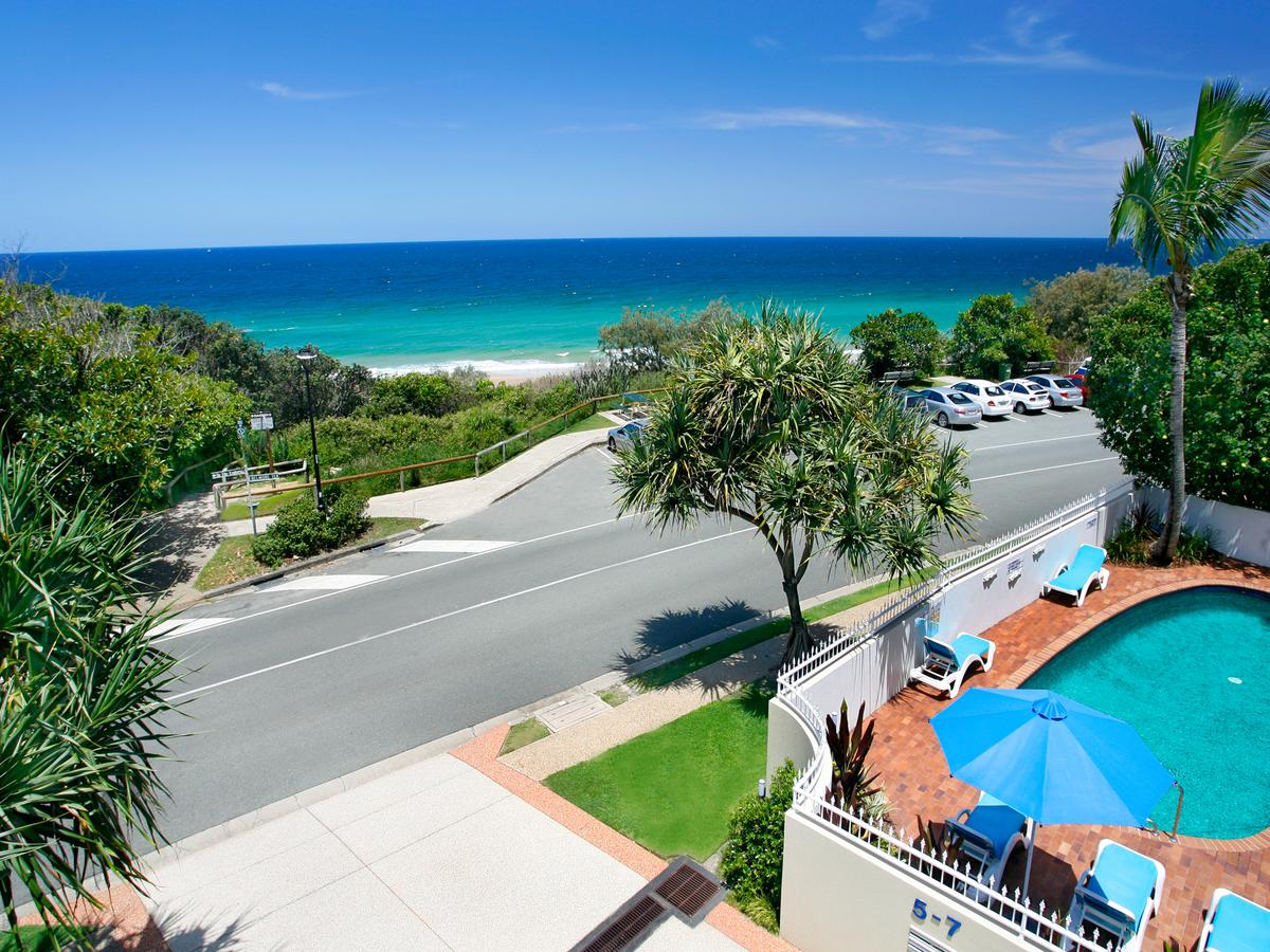 La Mer Sunshine Beachfront - Accommodation Mount Tamborine